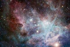 Étoiles, galaxies et nébuleuses dans l'image cosmique impressionnante illustration stock