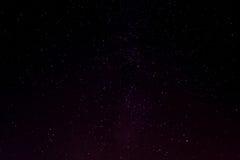 Étoiles la nuit Photo libre de droits