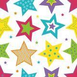 Étoiles lumineuses Photo stock