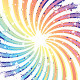 Étoiles magiques illustration stock
