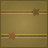 Étoiles militaires Image stock