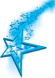 Étoiles ouvertes de porte d'étoile Image stock