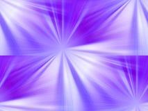 Étoiles pourprées Images stock