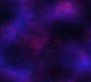 étoiles profondes de l'espace de nébuleuse Photo libre de droits