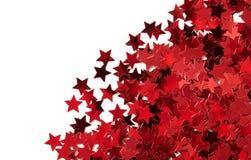 Étoiles rouges Photographie stock libre de droits
