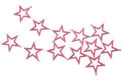 Étoiles rouges Photos libres de droits