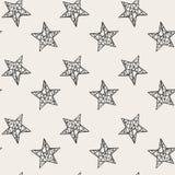 étoiles sans joint de configuration Photographie stock libre de droits