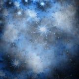 Étoiles sur le ciel sale Photos libres de droits