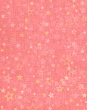 Étoiles sur le fond rose Photo libre de droits