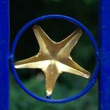 Étoiles sur le mur Image libre de droits