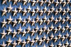 Étoiles sur le mur Images stock
