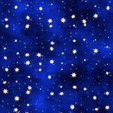 Étoiles sur un plafond illustration libre de droits