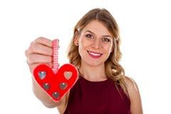 Étonnez votre amant le jour du ` s de Valentine Images libres de droits