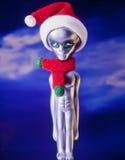 Étranger de Noël images libres de droits