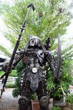 Étrangers de fer de robot Photos libres de droits