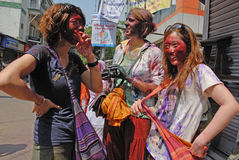 Étrangers en Inde Images libres de droits