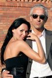 Étreindre de couples Photographie stock libre de droits