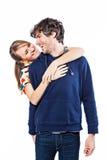 Étreindre de couples images stock