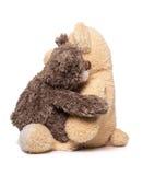 Étreindre de deux ours de nounours Photos libres de droits