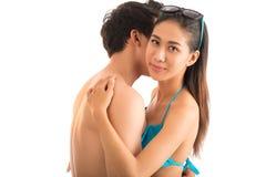 Étreindre des couples Photo stock