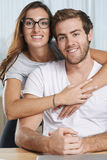 Étreindre des couples Image stock
