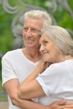 Étreindre mûr de couples Images stock