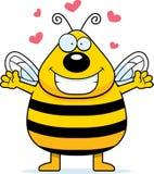 Étreinte d'abeille illustration libre de droits