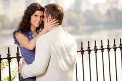 Étreinte de couples Images libres de droits