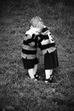 Étreinte jumelle Photographie stock