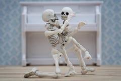Étreintes squelettiques Photographie stock libre de droits
