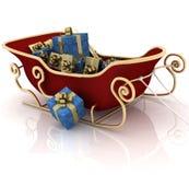 Étrier de Santa de Noël Images stock