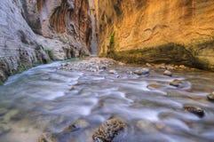 Étroits de fleuve de Vierge Photo stock