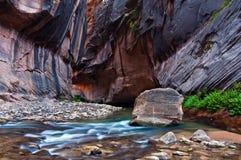 Étroits de fleuve de Vierge Images libres de droits