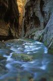 Étroits de fleuve de Vierge Photos libres de droits