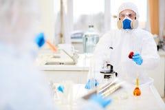 Étude chimique image libre de droits