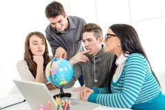 Étude d'étudiants Images libres de droits