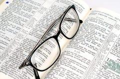 Étude de bible Photos libres de droits
