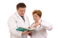 Étude de cas médicale Image libre de droits