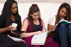 Étude de dévotion de la bible des femmes image stock