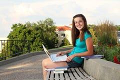 Étude de femme d'université Photo libre de droits