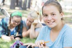 Étude de jeunes filles Image stock
