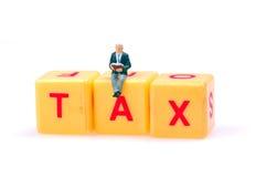 Étude de l'impôt images stock