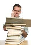 étude de mal de tête Photos libres de droits