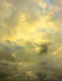 Étude 4 de nuages Image stock