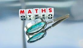 Étude des mathématiques Photo stock