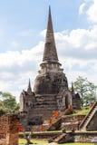 Étude du passé du bouddhisme Photographie stock libre de droits