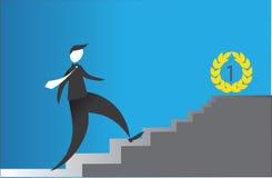 Étude et succès Image libre de droits