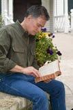 Étude pastorale de bible Image stock