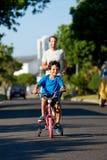 Étude pour monter la bicyclette Photos libres de droits