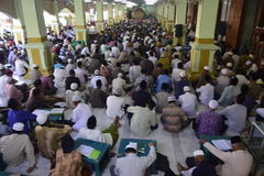 Étude Qur'an de Tadarus Images stock